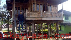 437147736627884 300x169 - Rumah Kayu Orderan Pak Erwin-Bogor