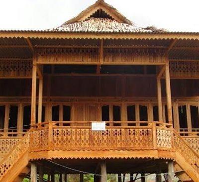 rumah kayu 8x10