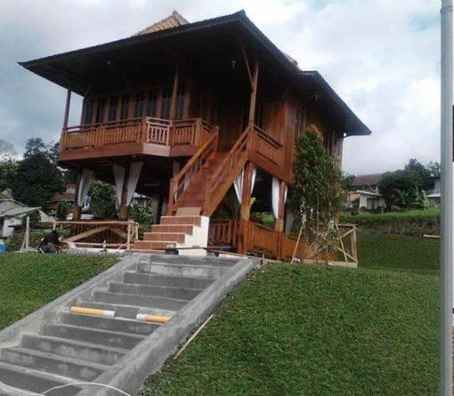 rumah kayu palembang bisa bongkar pasang