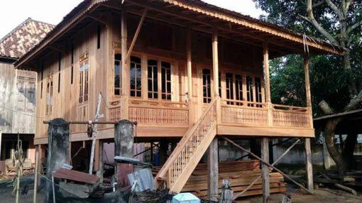 jual rumah kayu bongkar pasang