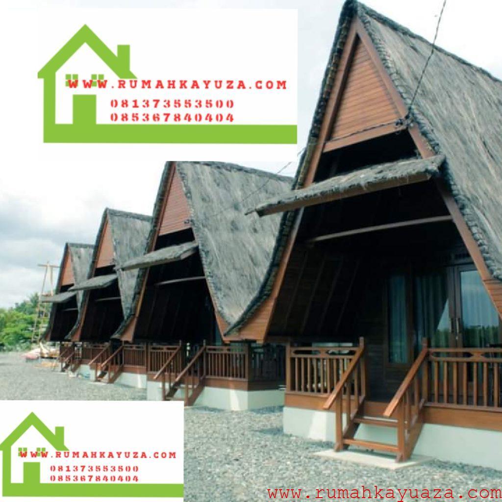 villakayu lumbung1 1024x1024 - Rumah Kayu Orderan Mbak Syifa,Pangandaran,Jawa Barat