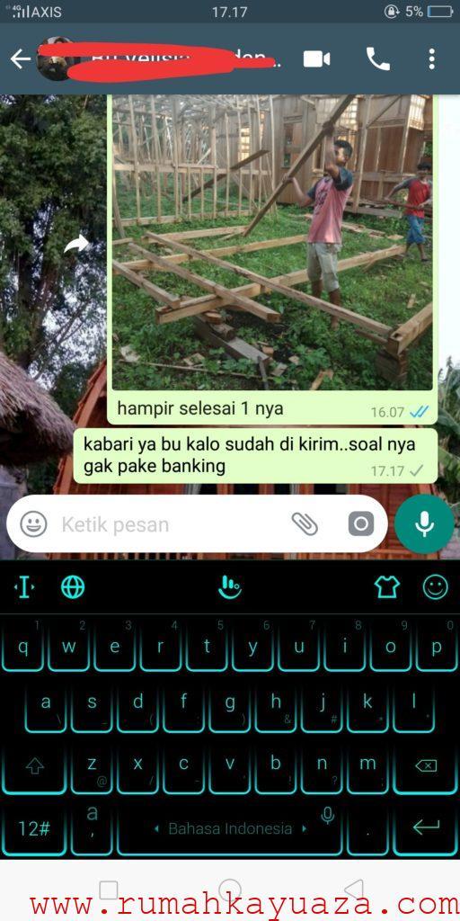 IMG 20190711 040509 512x1024 - Testimoni Pemesanan Rumah Kayu Bongkar Pasang