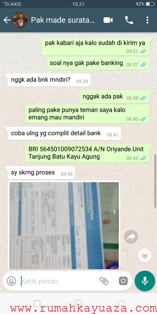 Screenshot 2018 10 31 10 21 02 62 512x1024 - Testimoni Pemesanan Rumah Kayu Bongkar Pasang