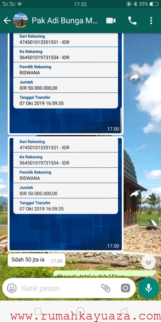 Screenshot 2019 10 07 17 52 47 06 512x1024 - Testimoni Pemesanan Rumah Kayu Bongkar Pasang