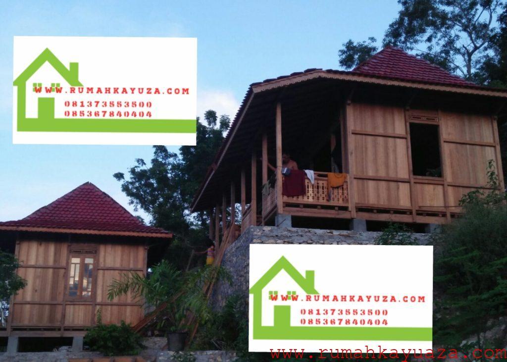 aza rumah kayu gazebo palembang 1024x731 - Rumah Kayu Orderan Pak Wayan,Bali