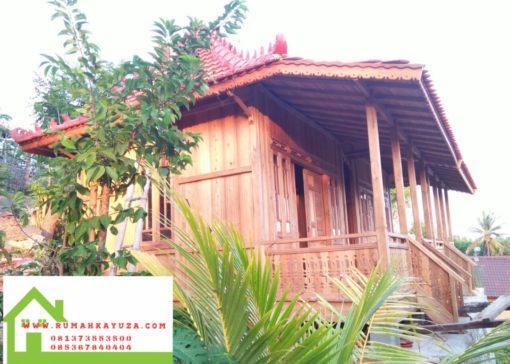 rumah kayu palembang 510x364 - Rumah Kayu Bongkar Pasang  Palembang 24m2