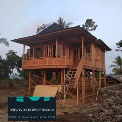 rumah kayu palembang