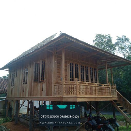rumah kayu 6x8